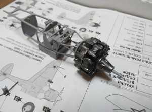 Совмещенные двигатель и моторама