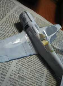Так выглядит модель после зачистки недостатков в мыльной воде