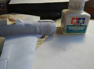 Tamiya Liquid Surface Primer White и результат его работы