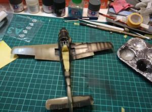 Прешейдинг FW-190 В-9