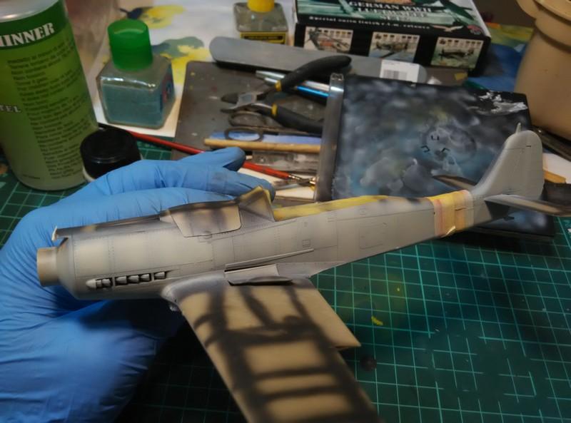 Левый борт FW-190 D-9