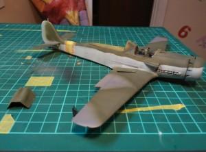FW-190 D-9 Right Board