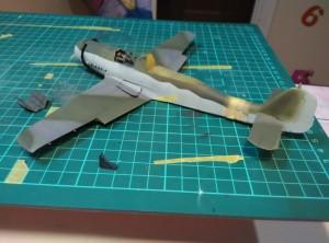 FW-190 D-9 Left Board